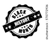 black history month stamp... | Shutterstock .eps vector #570772936