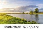Summer Landscape On The River...