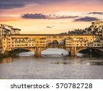 The Ponte Vecchio Bridge In...