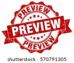 preview. stamp. sticker. seal.... | Shutterstock .eps vector #570791305