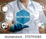 nutrition healthcare diet... | Shutterstock . vector #570793285
