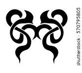 tattoo tribal vector designs...   Shutterstock .eps vector #570795805