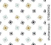 seamless hand drawn geometric... | Shutterstock .eps vector #570809542
