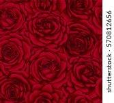 beautiful vintage seamless... | Shutterstock .eps vector #570812656
