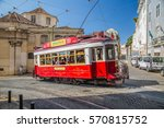 lisbon  portugal   october ... | Shutterstock . vector #570815752