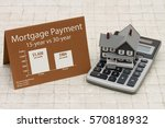 learning about mortgage...   Shutterstock . vector #570818932