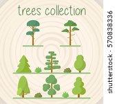 trees selection | Shutterstock .eps vector #570838336