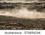 dirt fly after motocross...