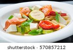 Salad With Pasta Vegetables An...