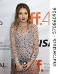 Actress Emily Browning Attend...