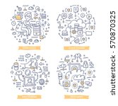 doodle vector concepts of... | Shutterstock .eps vector #570870325