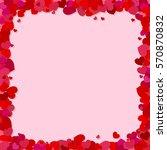 valentine's day vector...   Shutterstock .eps vector #570870832