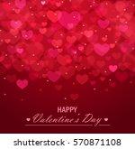 valentine's day vector... | Shutterstock .eps vector #570871108
