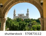 The Cathedral Of Merida On...