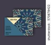 vector business card design... | Shutterstock .eps vector #570878422