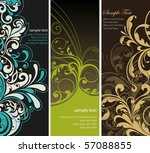 floral background | Shutterstock .eps vector #57088855