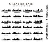 united kingdom   great britain... | Shutterstock .eps vector #570890308