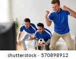 friendship  sport  people and... | Shutterstock . vector #570898912