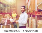 wholesale  logistic  people and ... | Shutterstock . vector #570904438