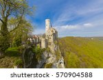 beautiful castles of europe  ... | Shutterstock . vector #570904588