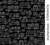 vector seamless pattern with...   Shutterstock .eps vector #570905476