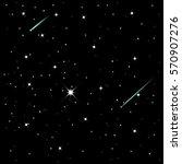 shooting stars  vector... | Shutterstock .eps vector #570907276