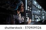 innovative technologies in... | Shutterstock . vector #570909526