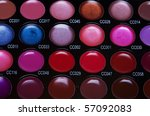 make up collection for creative ... | Shutterstock . vector #57092083