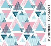pink and blue creative... | Shutterstock .eps vector #570933085