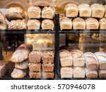 Fresh Bread In Shop Window
