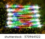 abstract style frozen... | Shutterstock . vector #570964522
