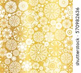 vector gold white abstract... | Shutterstock .eps vector #570982636