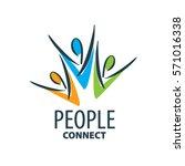 vector logo people | Shutterstock .eps vector #571016338