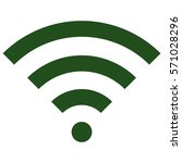 vector illustration of wifi... | Shutterstock .eps vector #571028296