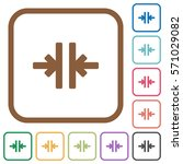 vertical merge simple icons in... | Shutterstock .eps vector #571029082
