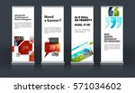 mega set. abstract business... | Shutterstock .eps vector #571034602