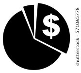 vector illustration of pie... | Shutterstock .eps vector #571065778