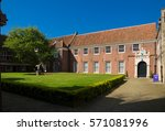 traditional dutch village in... | Shutterstock . vector #571081996
