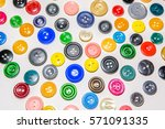 a big set of buttons in various ... | Shutterstock . vector #571091335