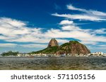 view of the sugarloaf mountain... | Shutterstock . vector #571105156