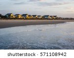 Skyline Of Beach Homes At Ise...