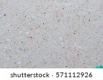 recycled paper texture  gray... | Shutterstock . vector #571112926