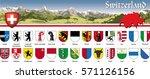 switzerland   schweiz   vectors ... | Shutterstock .eps vector #571126156