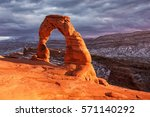 Delicate Arch At Sunset  Arche...