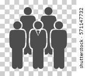 staff icon. vector illustration ... | Shutterstock .eps vector #571147732
