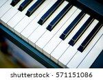 Small photo of a Piano , Piano keyboard