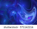 Abstract Blue Swirly Shapes....