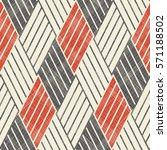 abstract wattled seamless... | Shutterstock .eps vector #571188502