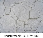 cracked concrete texture... | Shutterstock . vector #571294882