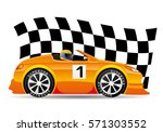 racing car. | Shutterstock .eps vector #571303552